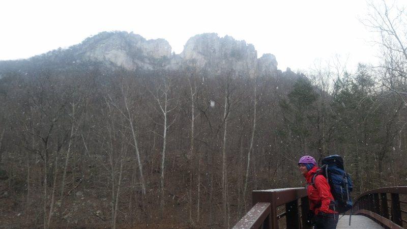 Seneca on a snowy February day.