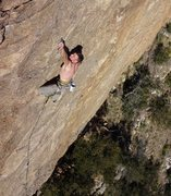 Rock Climbing Photo: JH onsighting