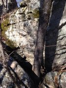 Rock Climbing Photo: Not the best but shows you what to look for