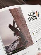 Rock Climbing Photo: Pet Arete as featured in Steve Bechtel's Lander Ro...