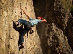 Rock Climbing Photo: EJ makes climbing look good.