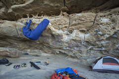 Rock Climbing Photo: When you want to climb in the morning, but it is t...