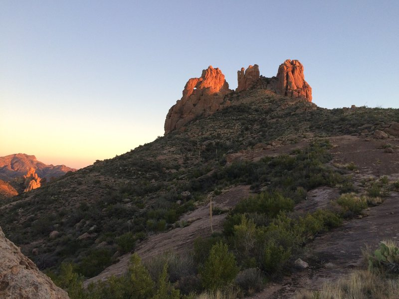 north side of miners needle