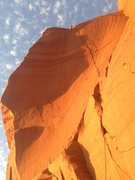 Rock Climbing Photo: Beautiful light on the first ascent. October 1, 20...