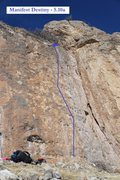 Rock Climbing Photo: Manifest Destiny (February 2016)