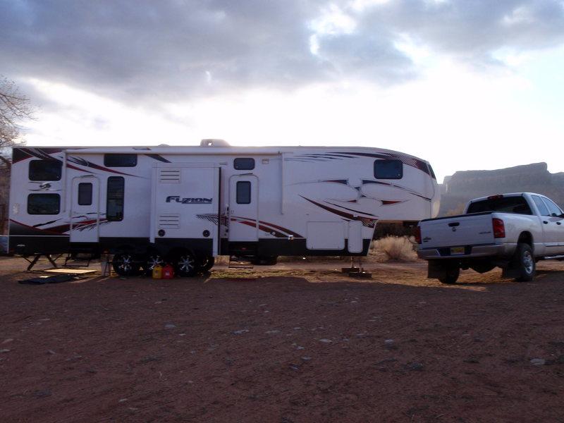 Optimus Prime visits Indian Creek.
