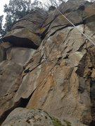 Rock Climbing Photo: No topo