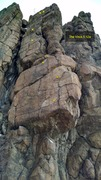 Rock Climbing Photo: The Virus, 5.12a.