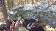 """Rock Climbing Photo: FA """"Size Matters"""" ****"""