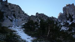 Rock Climbing Photo: Good mixed adventure when there is just a little b...