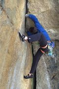 Rock Climbing Photo: What!? that was the easiest solution I could think...