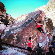 Rock Climbing Photo: For those who are shorter I'm 5'1 so  you can see ...