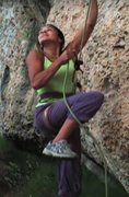 Rock Climbing Photo: Unconscious brake hand lifting?