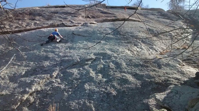 Perfect day for climbing