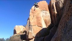 Rock Climbing Photo: Putting a solo circuit together for days without a...