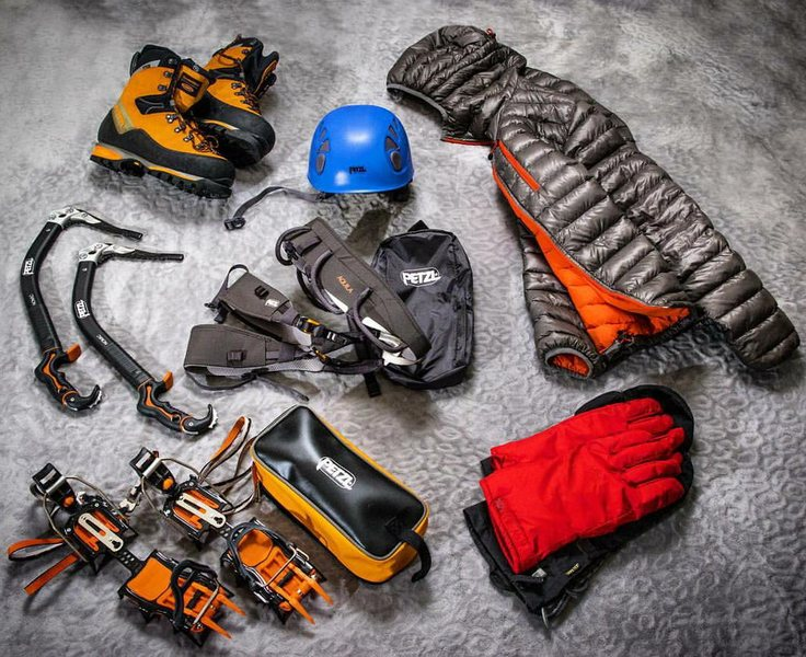 Rock Climbing Photo: New Petzl Gear