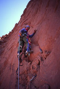 Rock Climbing Photo: Dave Levine, pitch 4.