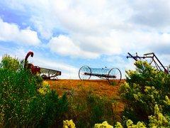 Rock Climbing Photo: Fujiwara effect at the tractor museum!!!