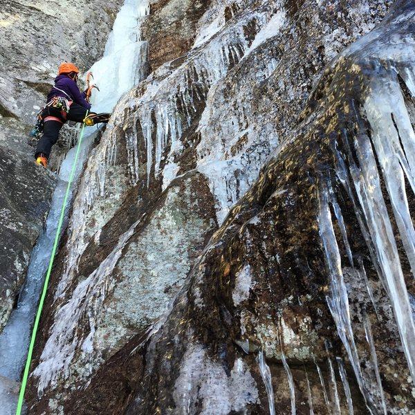 Rock Climbing Photo: Hawksbill