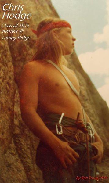 Rock Climbing Photo: Chris Hodge.