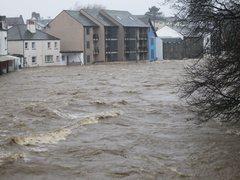 Rock Climbing Photo: Floods In Keswick