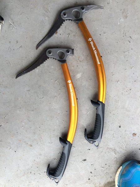 Rock Climbing Photo: Tools