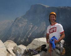 Rock Climbing Photo: Dinner Ledge, Washington Column, Yosemite, CA