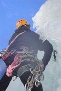 Rock Climbing Photo: Bridal Veil Falls, Telluride, CO