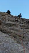 Rock Climbing Photo: Haley on Mons.