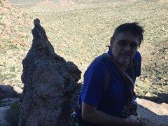 Rock Climbing Photo: Dan Sola on Spare Rib/Baby Back.