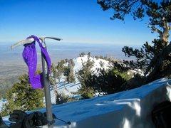 Rock Climbing Photo: Panties on the Summit, Panties on the Summit!!! :)