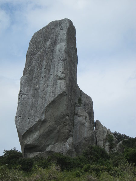 Rock Climbing Photo: East face of The Sword