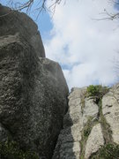 Rock Climbing Photo: The most likely start to an FA attempt of The Swor...