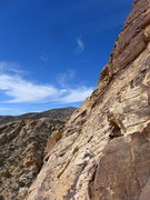 Rock Climbing Photo: view from P2 belay