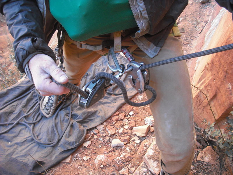 You can send as long as your belayer is fat, standing on the rope and using 2 gri-gri's