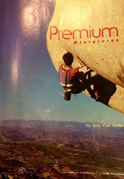 Rock Climbing Photo: The Lidner Test Piece (Undertow)!!!!! 1986!
