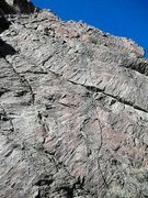 Rock Climbing Photo: Sunbaked
