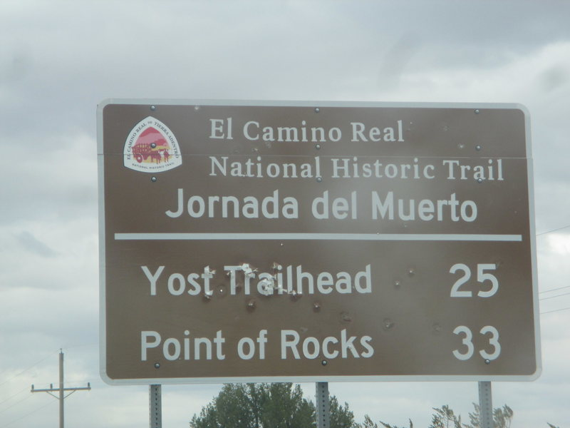 Jornada del Muerto Trail