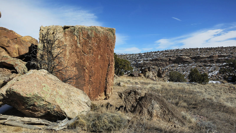 Rock Climbing Photo: Cinch Clamp's south face.
