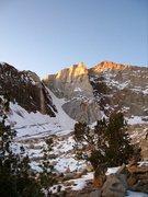 Rock Climbing Photo: Emerson winter alpinglo!!!