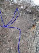 Rock Climbing Photo: Cem Wall Slab