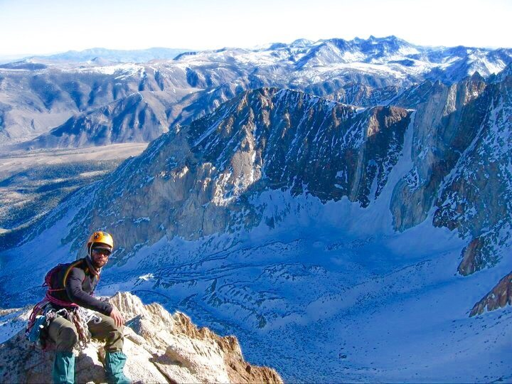 Rock Climbing Photo: Winter ascent of one of those 14teeners!!!