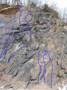 Rock Climbing Photo: Cem Wall