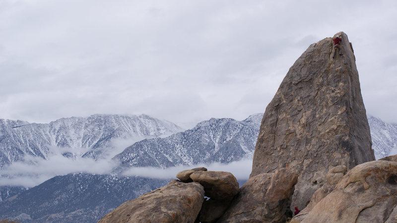 Rock Climbing Photo: Alabama Hills