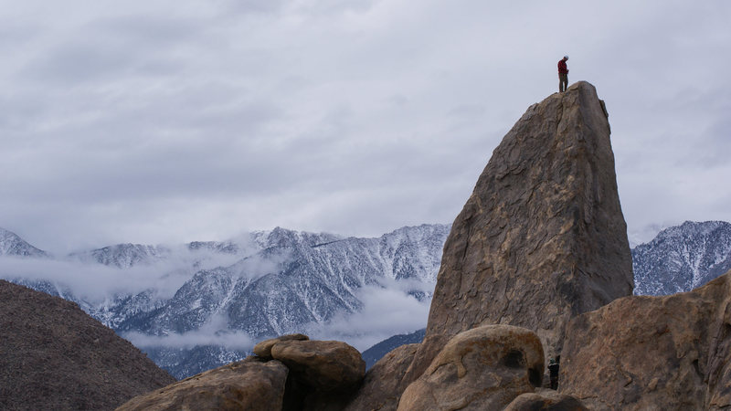 Rock Climbing Photo: Beautiful setting for a climb