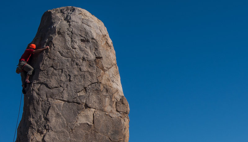 Rock Climbing Photo: Interesting climb