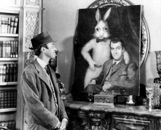 Elwood P. Dowd and Harvey.