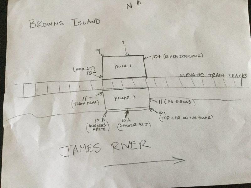 Rock Climbing Photo: Browns Island pillars overview