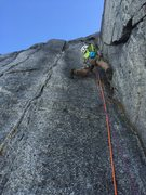 Rock Climbing Photo: Looking up P7