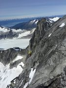 Rock Climbing Photo: 4th classing towards summit